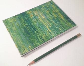 Green Hardcover Sketchbook
