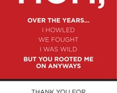 NC State Wolf Pack Mother's Day Card