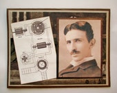 RESERVED FOR ML - Nikola Tesla Wheels of Invention Card
