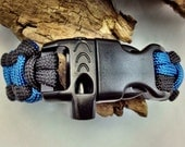 Whistle Buckle Upgrade for Paracord Bracelets
