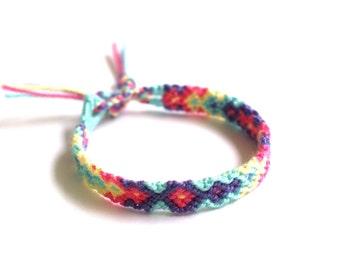 Friendship Bracelet. Soft Hued.