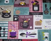 Tea Patchwork F  from the Live Life Collection for Yuwa of Japan