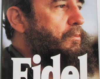 Fidel Castro, Fidel A Critical Portrait, Biography, First Edition, by Tad Szulc