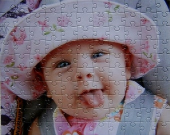 Personalized Photo Puzzle perfect for fun gift idea. Large Personalized Puzzle you choose the piece count.  Your picture on a puzzle.