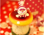Cheshire Cat Style2 Alice in Wonderland Cellphone Dust Plug. Smart Phone Dust Plugs Blackberry 3GS 4S 5 HTC