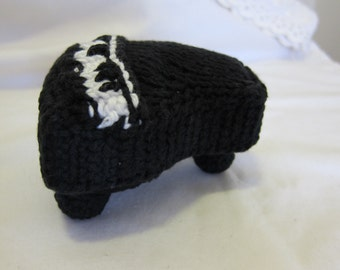 Pattern Only Stuffed Baby Grand Piano Knitting and Crochet (Black)