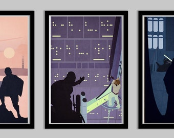 Star Wars A Hero's Quest Set of 3 Posters