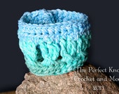 PDF Crochet Pattern File - Criss-Cross Cuff Bracelet