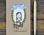 Personalized Portrait Mini Notebook