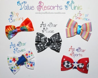 Value Resorts Mini Hair Bow