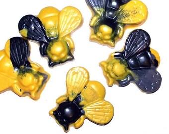 Rainbow Bee Crayons - Set of 5