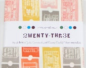 Twenty Three by Eric and Julie Comstock - Charm Pack