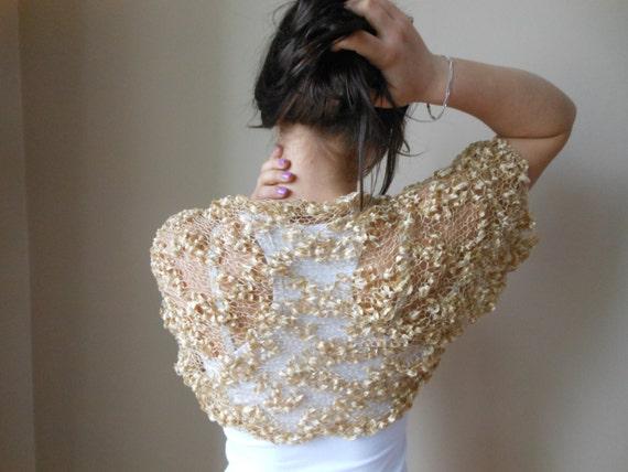 knit shrug bolero wooman summer shrug lace sleeves jacket. Black Bedroom Furniture Sets. Home Design Ideas