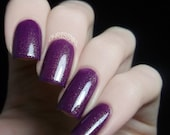 Nail Polish: Splendid - Purple Polish with Gold Shimmer