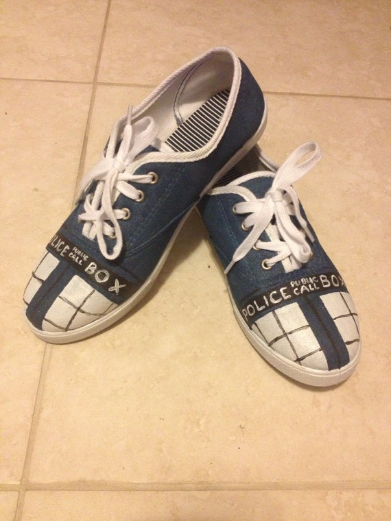 Doctor Who Tardis Shoes (Ladies