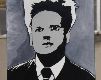 "A tribute to a David Lynch masterpiece ""Eraserhead""- 16x20"