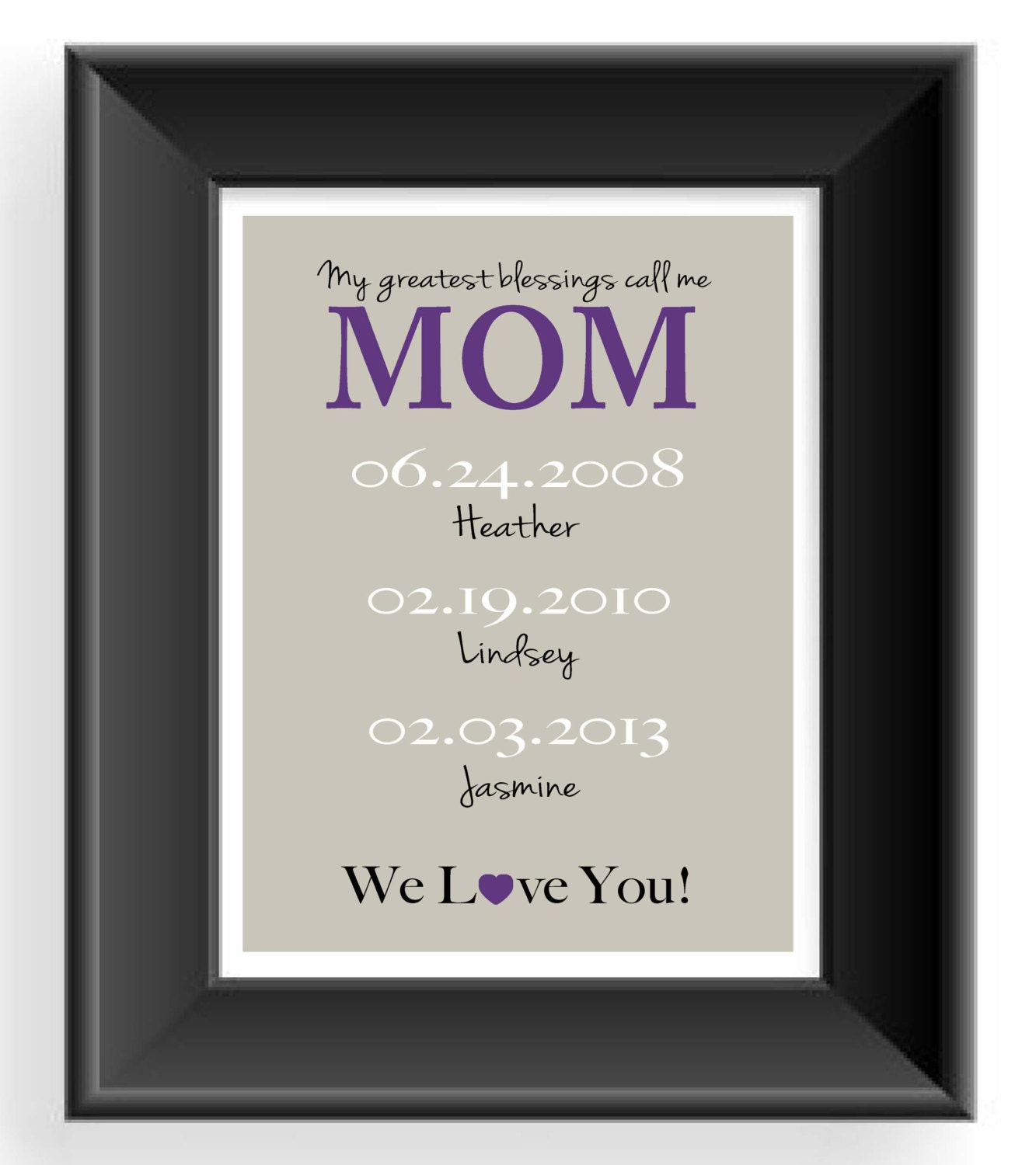 Gift For Mom Mother 39 S Day Gift Personalized Mother Gift