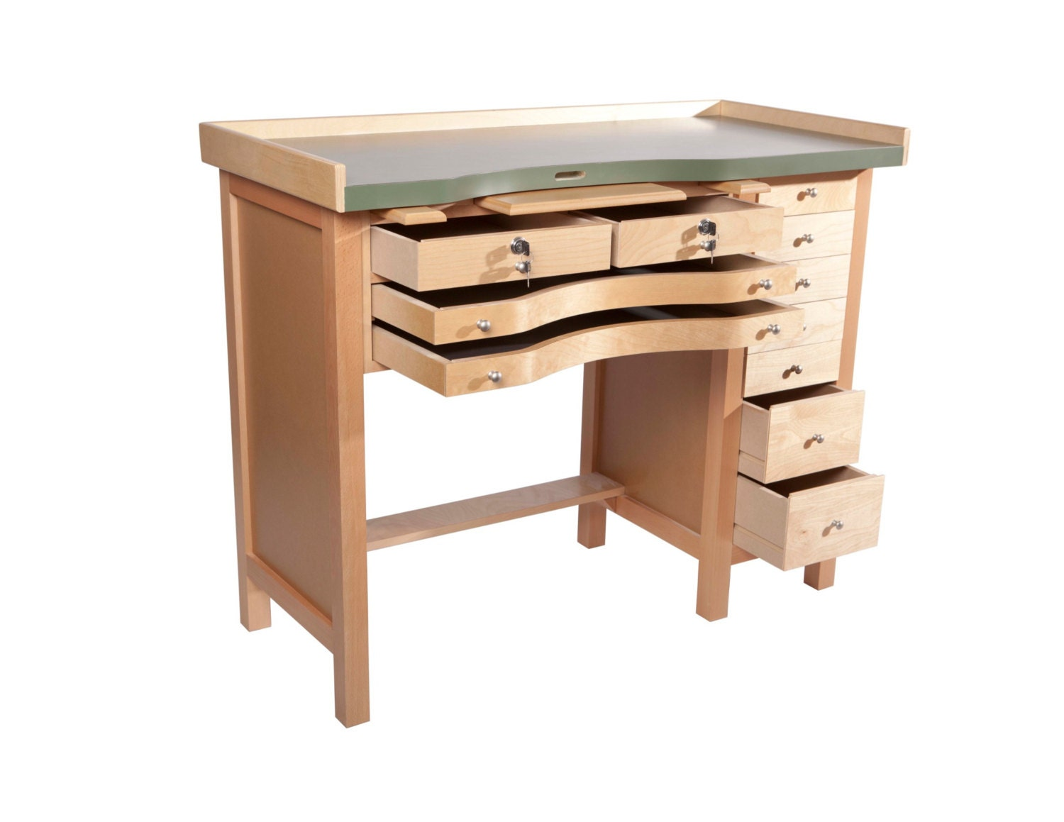 Items Similar To Professional Jewelers Workbench Handcrafted In The Usa On Etsy