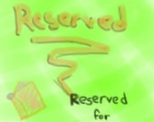Book Charms - Reserved