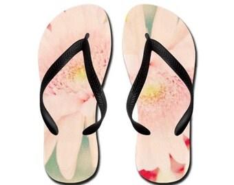 Wonderful - Summertime Flip Flops - Original Photograpy by RDelean Designs, spring floral flowers blossoms blooms