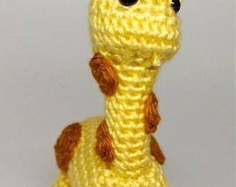 Amigurumi Stuffed Giraffe