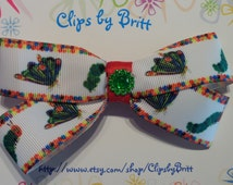 Hungry Little Caterpillar Hair Bow w/ Alligator Clip  - Accessories - Baby - Toddler - Girl