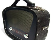 Handmade Radio Design Handbag