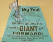 Big Foot (TM) by Lynn Graves for High Shank Sewing Machines for Free Motion Quilting