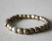 Brass statement bracelet // handmade // featured on front page