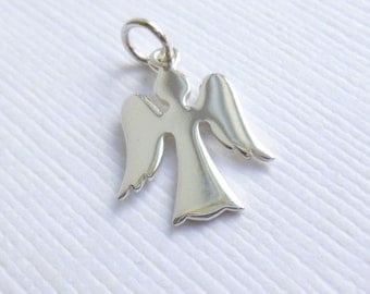Sterling Silver Angel Charm -- 1 Piece... Sterling Silver Pendant