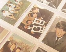 Vintage Beatles Collectable Color Cards Diary and 2nd Series Trading Cards