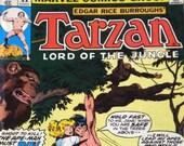 Tarzan, Lord of the Jungle -- Comic Book Marvel Comics Group Vol. 1, No. 11, April 1978