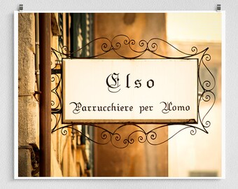 Italy photography - Elso - Vintage sign,Italy art,Brown,Shabby chic,Fine art photography,Italy decor,8x10 wall art,brown,Fine art prints