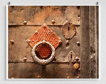 Italian door - Italy photography,Italy art,Brown,Shabby chic,Fine art photography,Italy decor,8x10 wall art,brown,Fine art prints