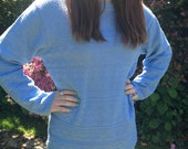 Vintage Womens Blue Jumper