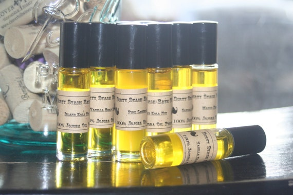Natural Jojoba Oil Perfume Oil-Temptation Woods