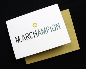 Masters of Architecture (M.Arch) Card