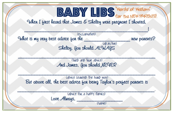 items similar to little man baby shower game card baby libs on etsy