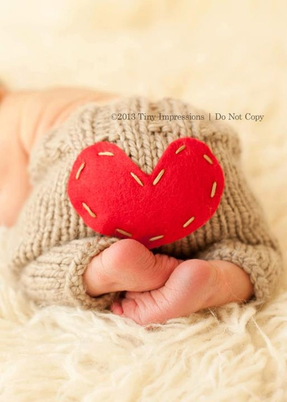 Knitting Patterns For Newborn Photography Props : Newborn Photo Prop Newborn Pants Valentines by ...