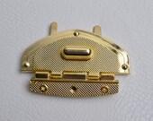 One Set,2.6x1.7 inch High Quality Twist Locks / Flip Locks For Bags,Purse Flip Locks,Bag Making Suppliers