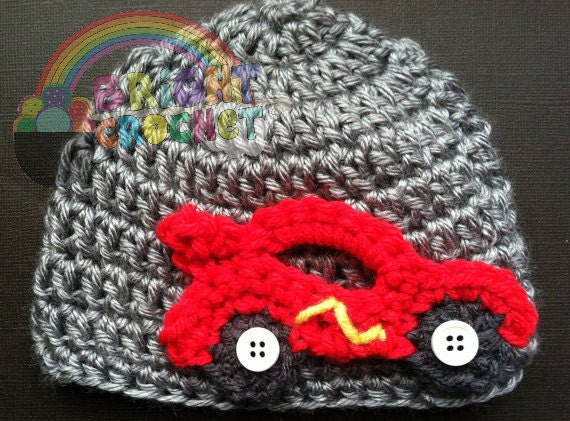 Crochet Race Car Pattern