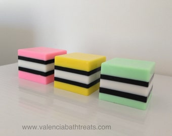 Licorice All Sorts Soap