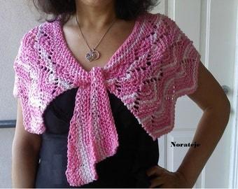 Summer parfait caplet knitting pattern