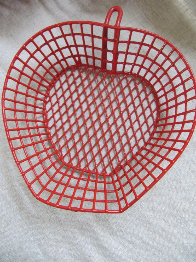 Wire Burger Baskets 6 Sturdy Metal With By Vintagedelight374
