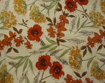 Dear Stella Honeycrisp Floral Fabric-1/2 yard