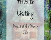 Project of the Month Club CD-ROM -Private Listing for AllforJasmine