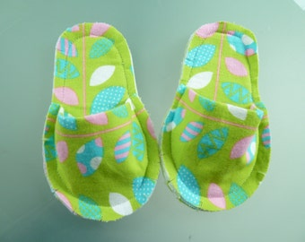 Children's rag houseshoes size 8-Free shipping