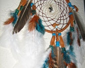Whiskey River Wild Turkey Dream Catcher handmade,dream ring, by dreamcatcherman