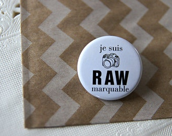 Badge RAWmarquable