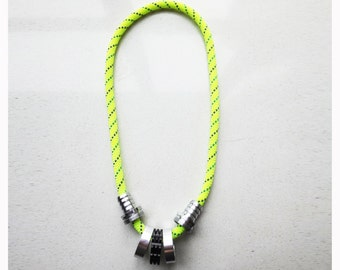 SALE Ring, rope necklace